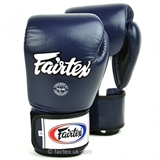 Kožne rukavice za boks 3-Tone (blue) - Fairtex