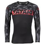 Red Bar Camo Rashguard