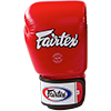 Kožne rukavice za boks 3-Tone (red) - Fairtex