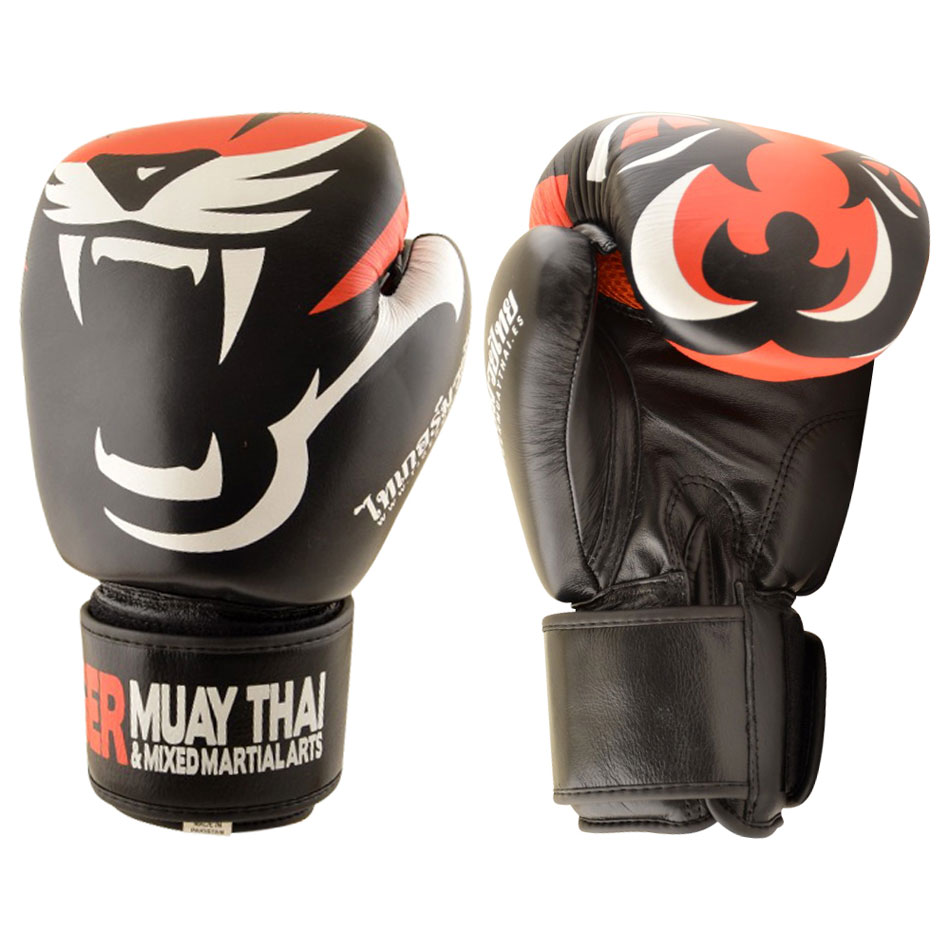 Tiger Muay Thai rukavice blk